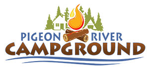 The Pigeon River Campground logo