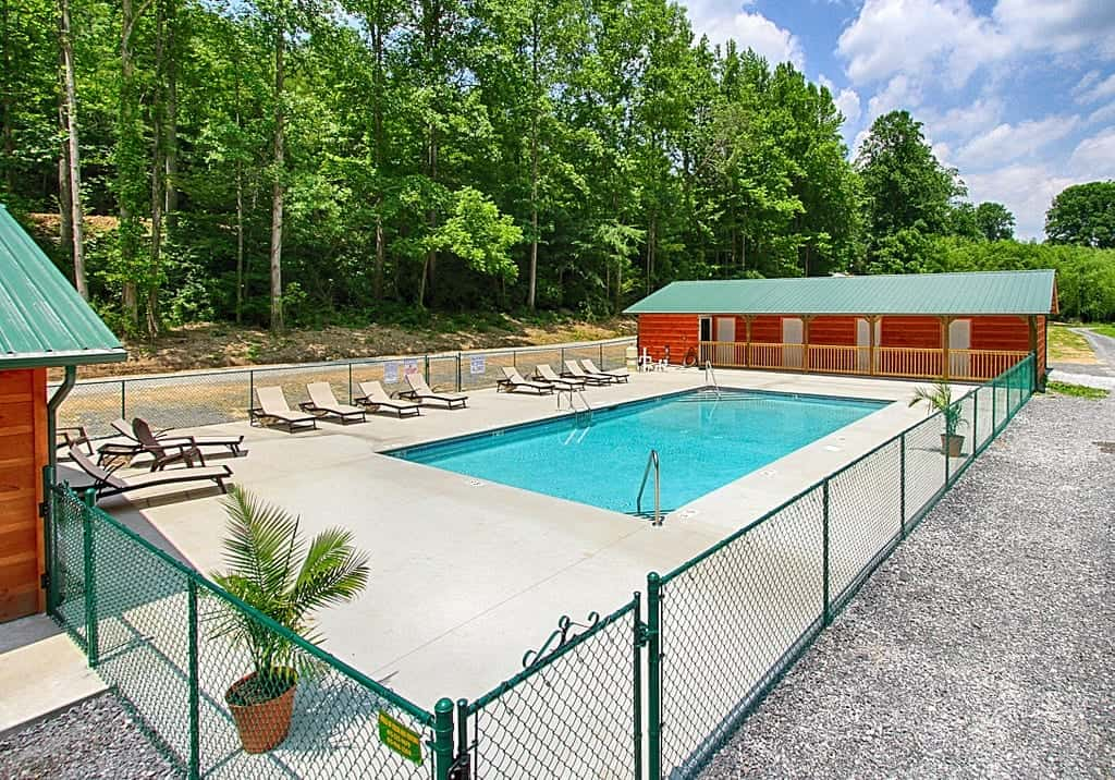 Swimming Pool at Pigeon River Campground