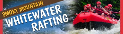 whitewater rafting banner
