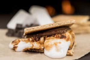 a gooey melting smore